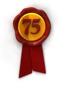 ahh..75. My dream grade.